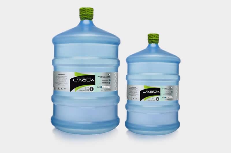 Cuidados com o galão de água